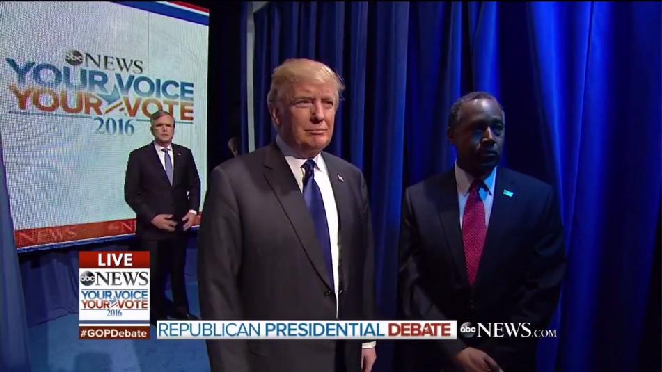 Republican Debate Entrance Video
