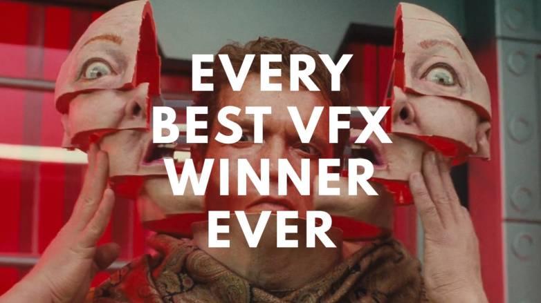 Oscars Best Visual Effects Winners