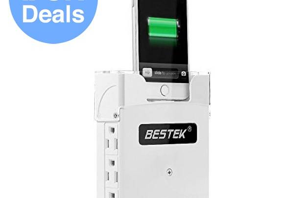Surge protector cell phone charger