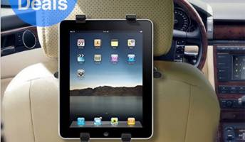 Car seat mount for iPad