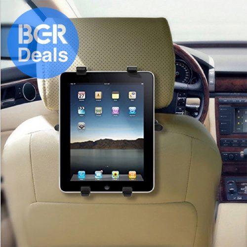 Car seat mount for iPad
