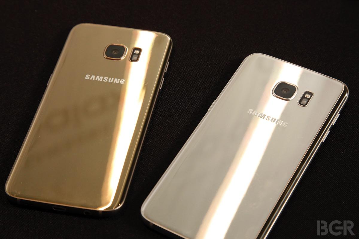 Galaxy S7 Edge Bend Scratch Test