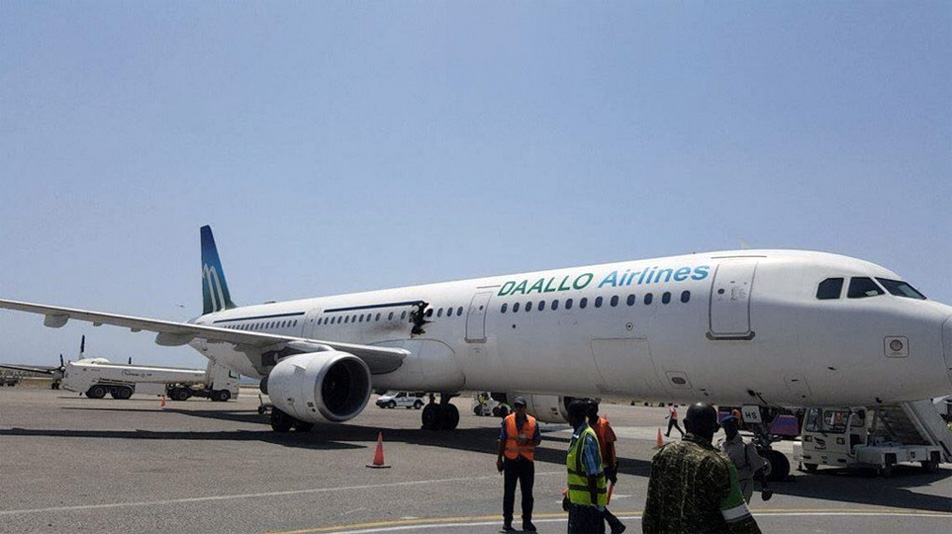 Suicide Bomber Daallo Airlines Airplane