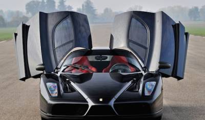 Restored Ferrari Enzo