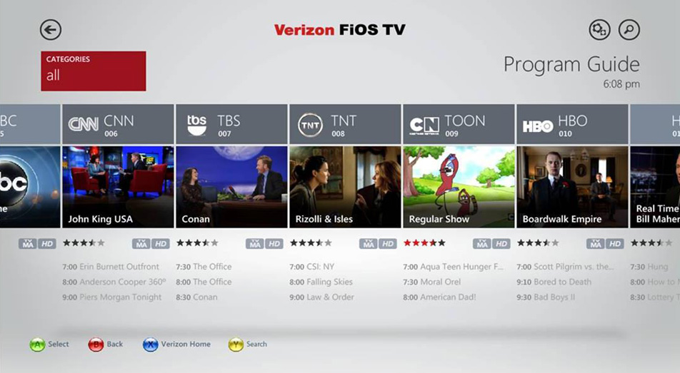 Verizon FiOS channel listings offer a few channel packages complete with enticing perks such as HD resolution, reliable customer service, and custom TV plans. However, it is a little pricier compared to the average cable provider.
