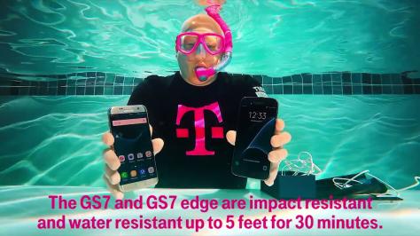 Samsung Galaxy S7 Waterproof Video