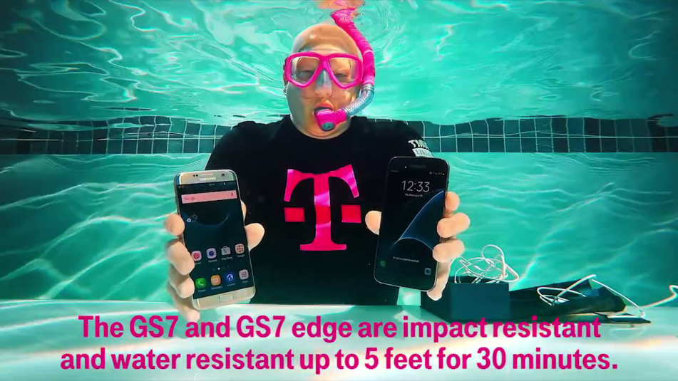 Samsung Galaxy S7 Waterproof Video