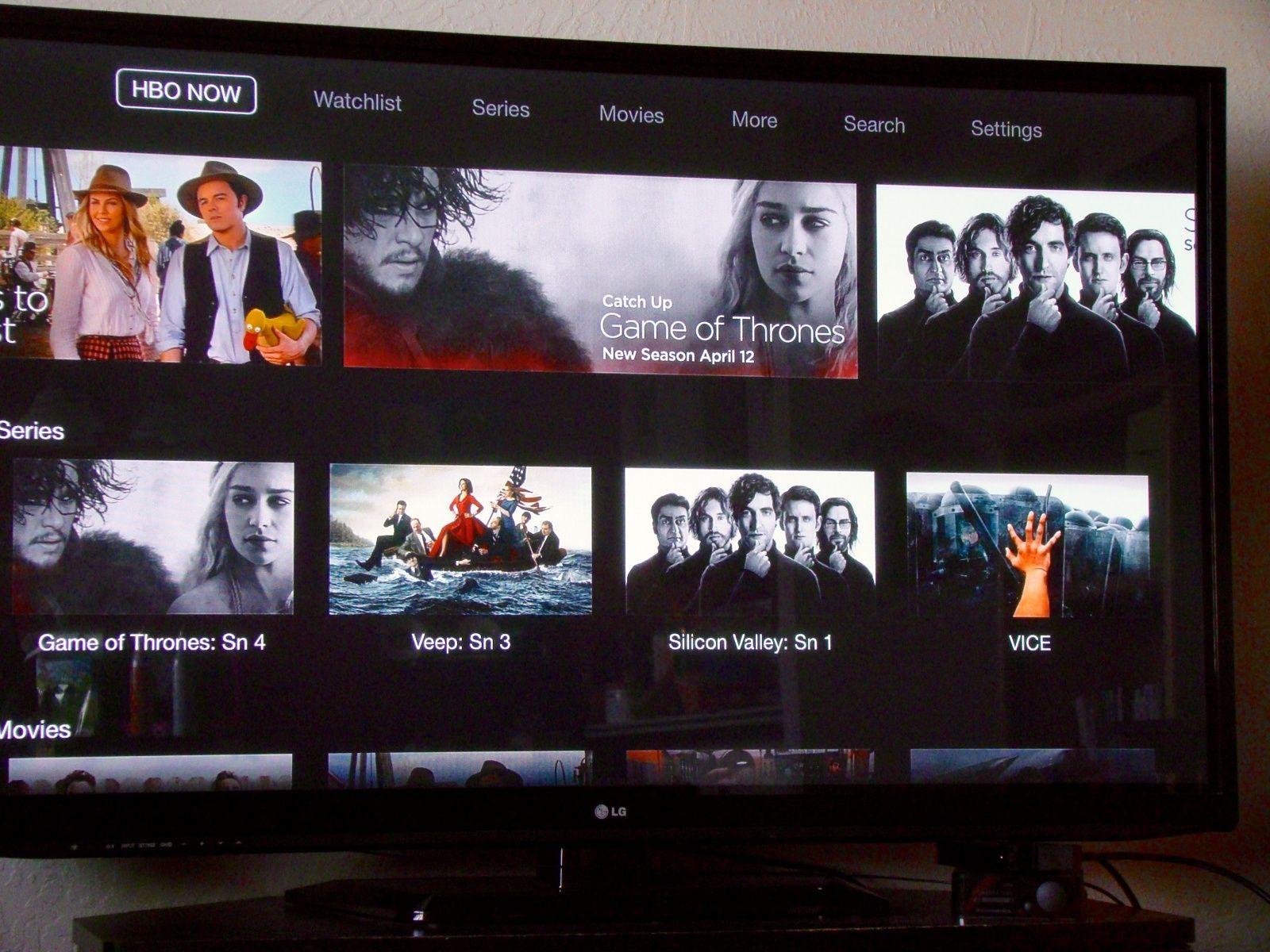 HBO Now Movies Shows International