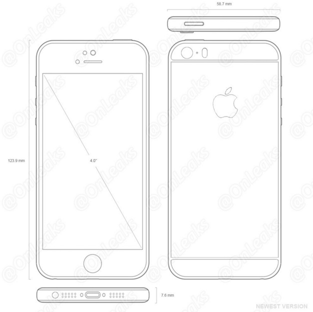 iphone 5se schematics
