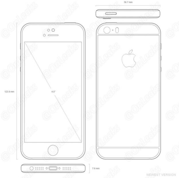 iphone 5se schematics