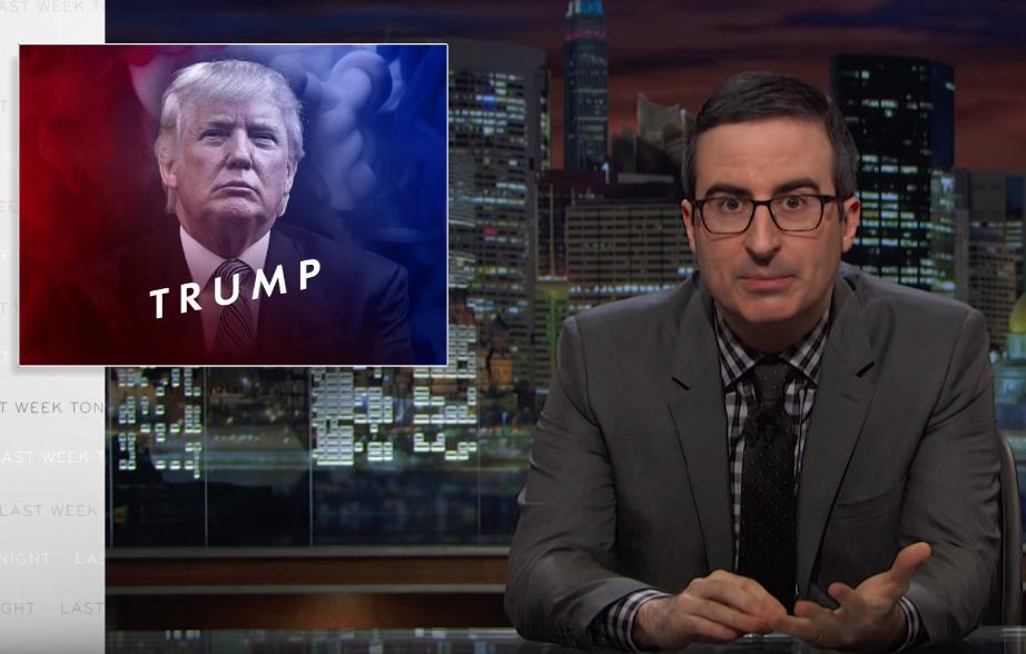 John Oliver Vs Donald Trump Video