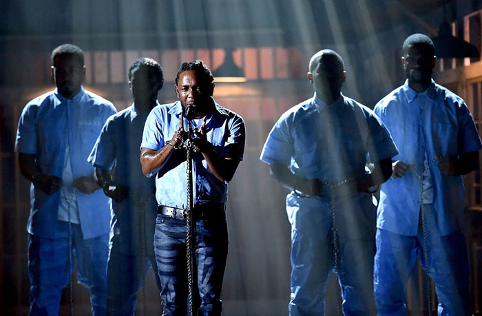 Kendrick Lamar Grammys 2016 Performance Video