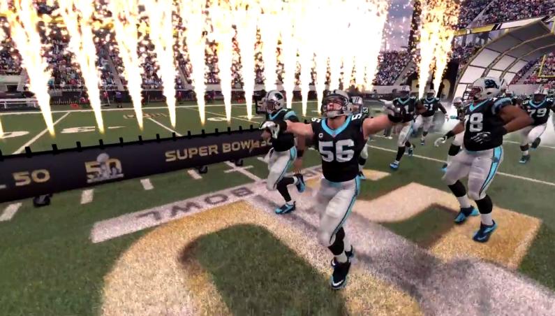 Madden Super Bowl 50 Prediction Video