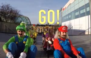 Mario Kart Cosplay Viral Video