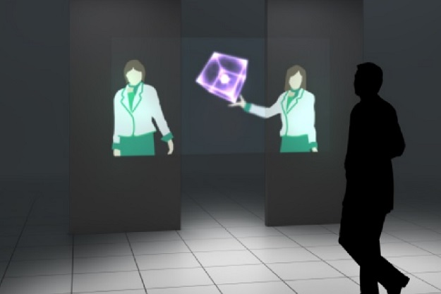 Mitsubishi Floating Virtual Display