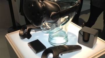 HTC Vive VR Hands On