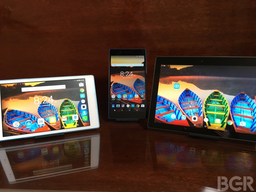 MWC 2016 Lenovo Windows 10 Android