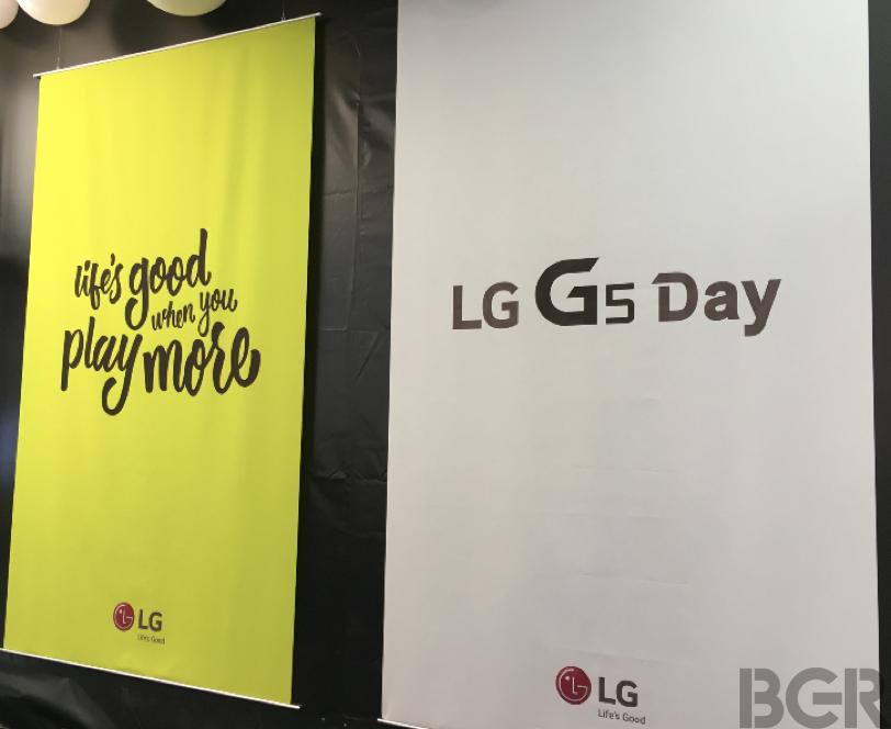 LG G5 Live Stream
