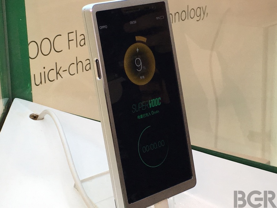 Oppo SuperVook Battery Fast Charging