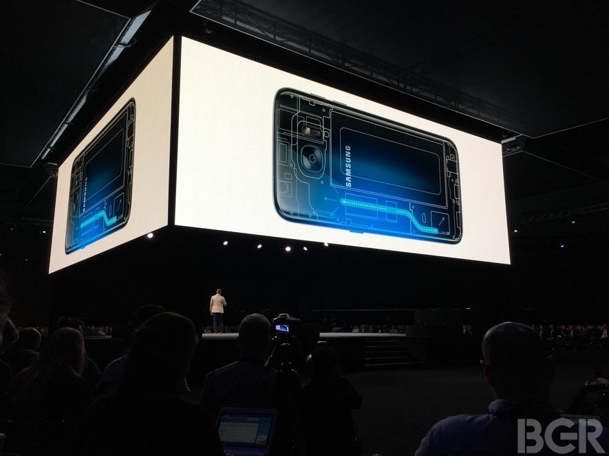 Galaxy S7 Edge Liquid Cooling