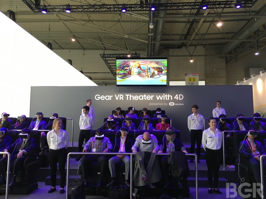 Gear VR Theater 4D Experience
