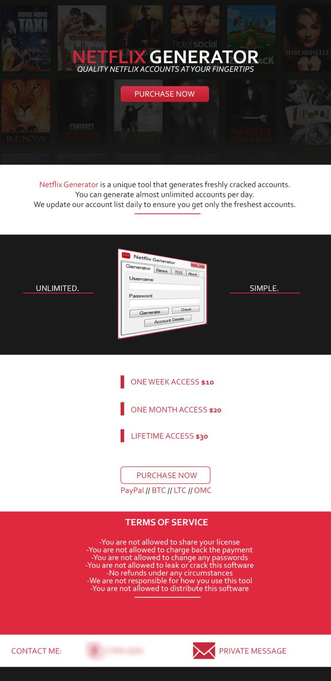 Netflix Generator