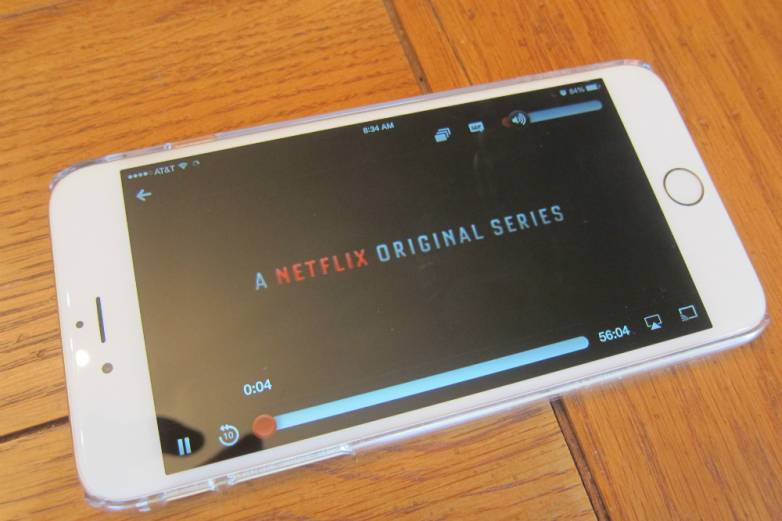 Netflix iPhone App Offline Downloads