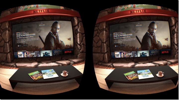 Netflix Virtual Reality Content