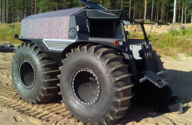 russian sherp truck