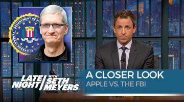 Apple vs. FBI Seth Meyers