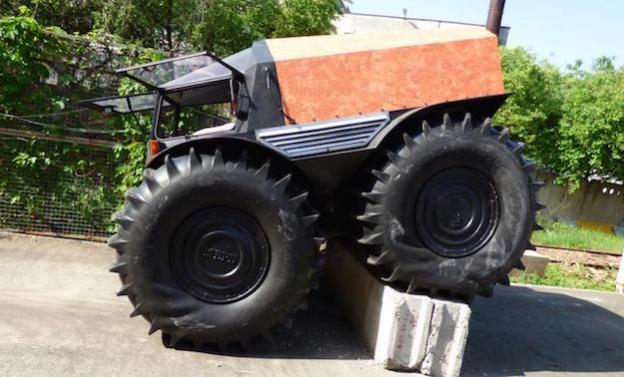 sherp climb truck