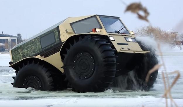 Russian SHERP ATV