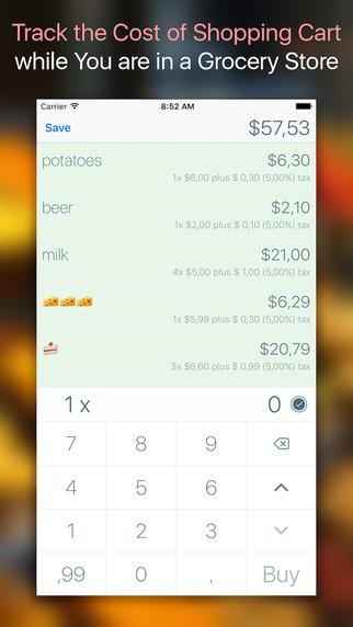 Shopping Cart Tracker