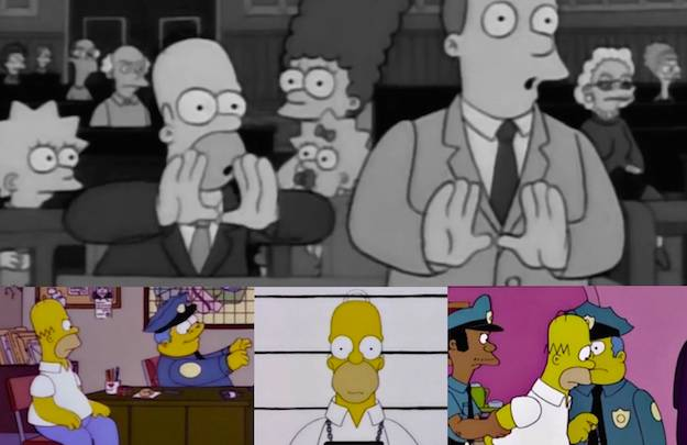 The Simpsons Making a Murderer