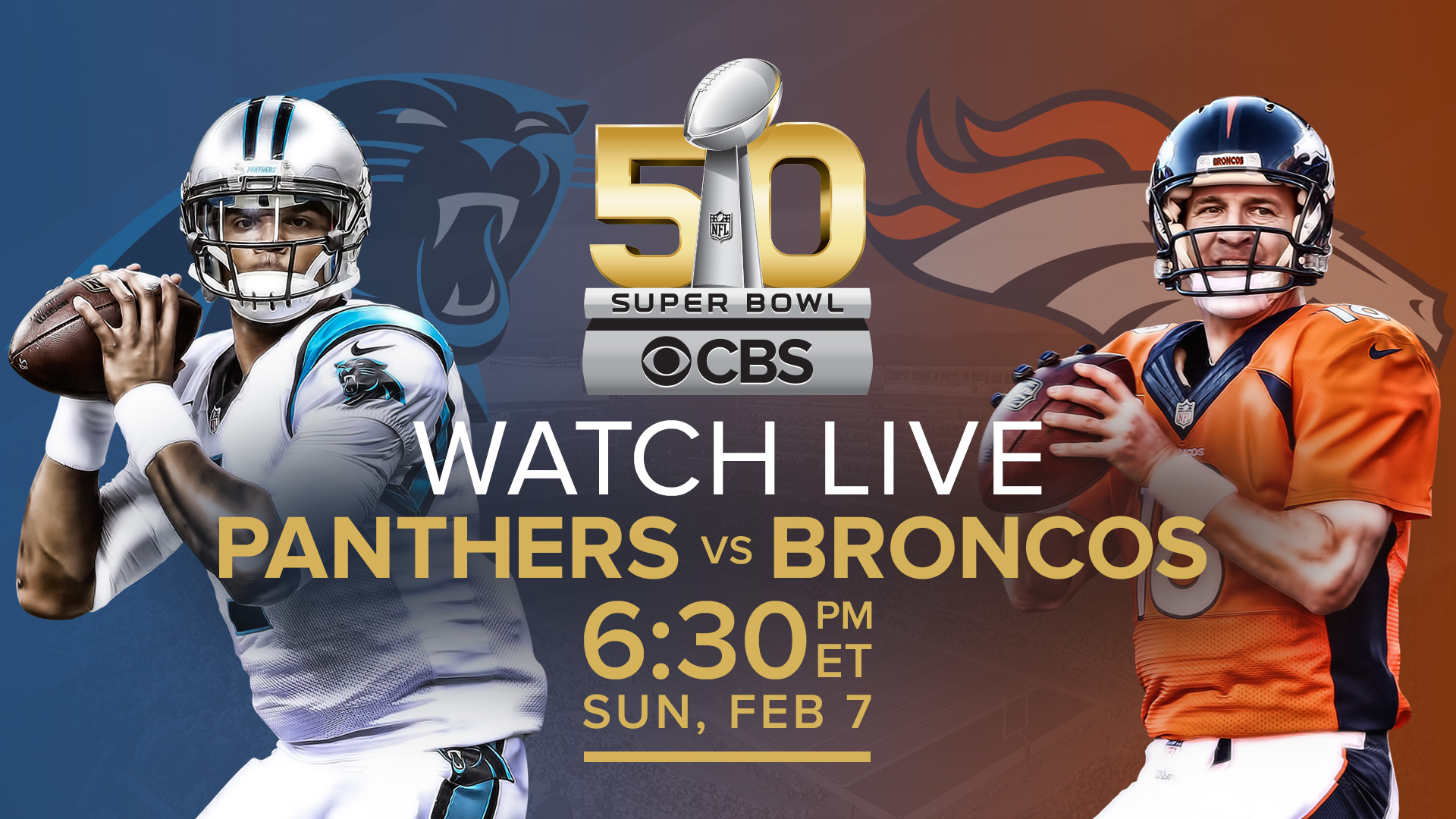 Stream Super Bowl 2016