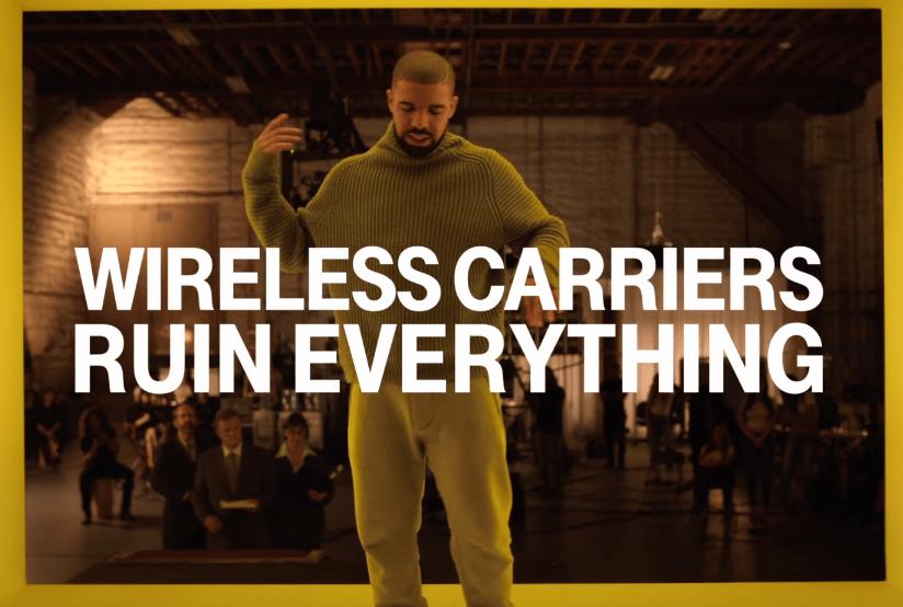 T-Mobile Drake Super Bowl Ad