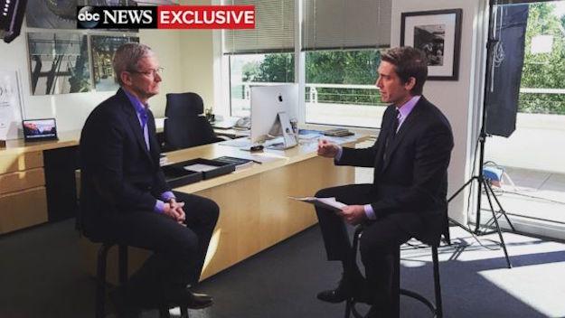 Tim Cook FBI Apple Interview