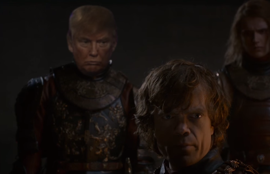 Donald Trump Game Of Thrones Mashup Video