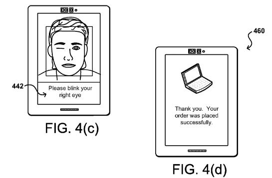 amazon patent selfie