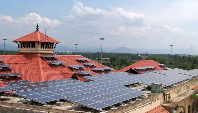 Cochin International Airport Solar Power