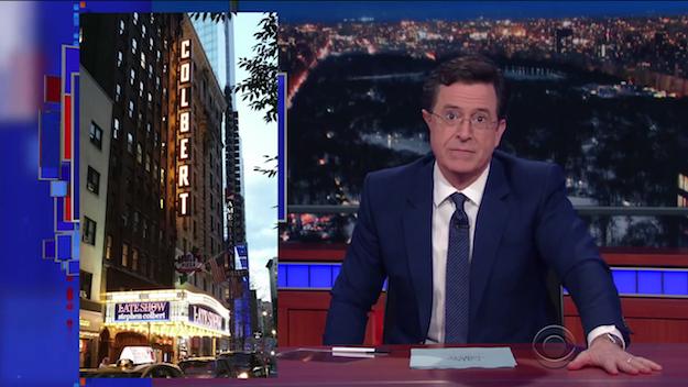 Stephen Colbert Donald Trump Debate