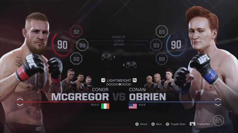 Conan UFC 2 Clueless Gamer