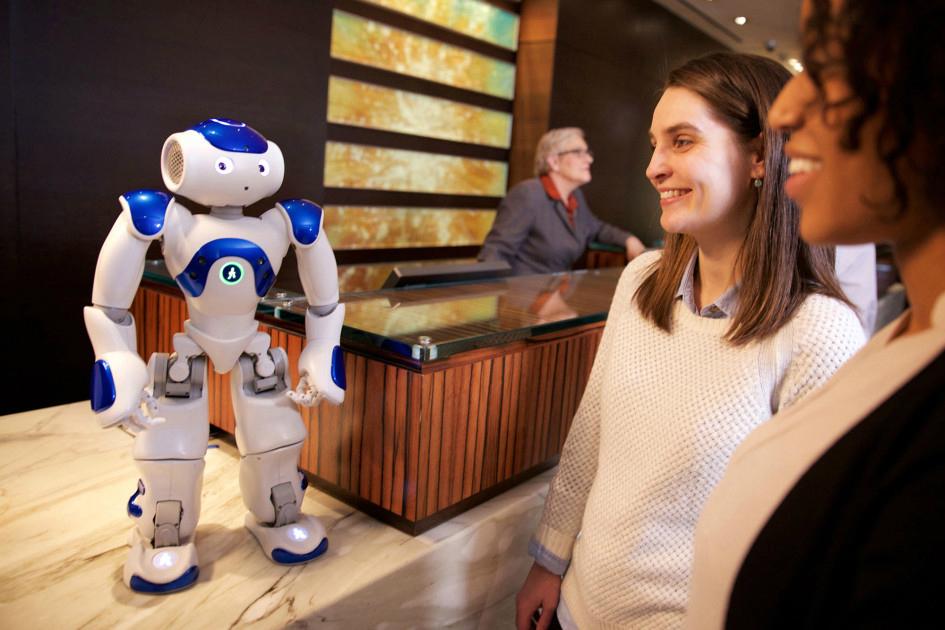 IBM Watson AI Robot Hilton Hotels