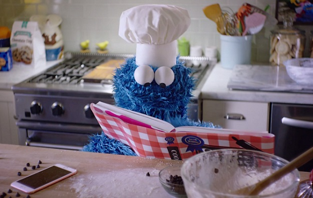 Siri Commercial Cookie Monster