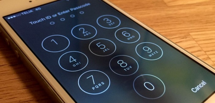 iPhone Touch ID Enter Password