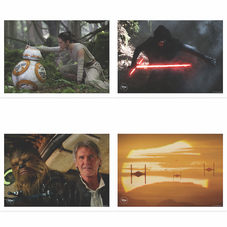 Force Awakens Lithographs