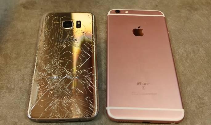 Galaxy S7 edge iPhone 7 Plus