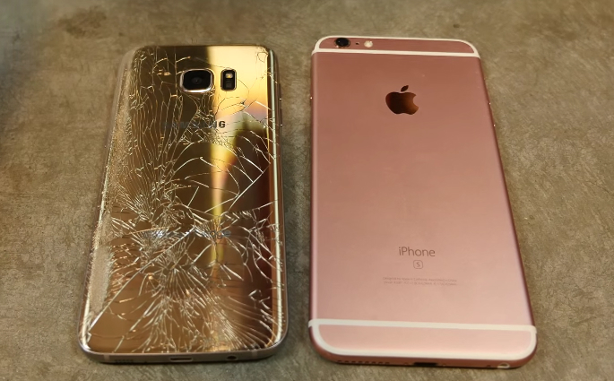 galaxy s7 vs iphone 6s which phone can survive these brutal drop tests bgr. Black Bedroom Furniture Sets. Home Design Ideas