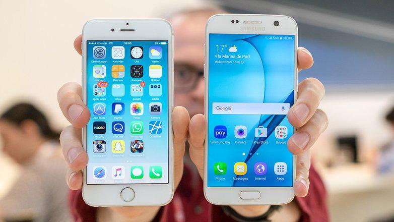 Galaxy S7 Vs iPhone 6s