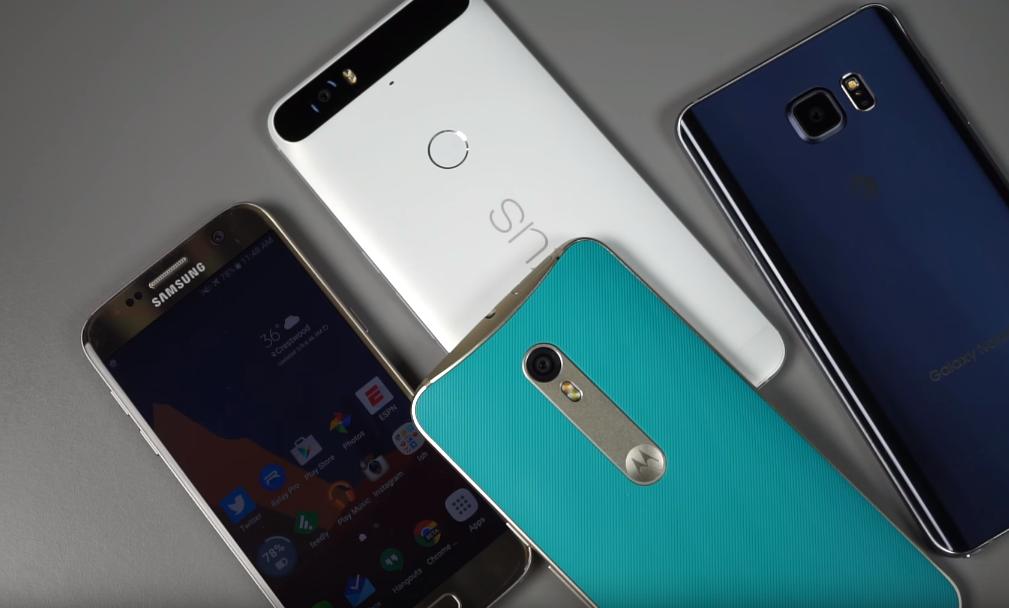 Galaxy S7 Vs Nexus 6P Vs Moto X Pure Edition
